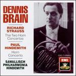 Strauss, Hindemith: Horn Concertos