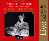 Strauss: Salome - Albrecht Peter (vocals); Gertrud Ebeling (vocals); Hans Hotter (baritone); Inge Borkh (soprano);...