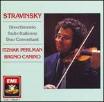 Stravinsky: Divertimento; Suite Italienne; Duo Concertant