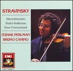Stravinsky: Divertimento; Suite Italienne; Duo Concertant