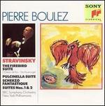 Stravinsky: Firebird Suite; Pulcinella Suite