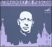 Stravinsky in Moscow - Igor Stravinsky (conductor)
