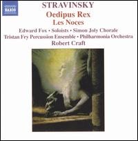 Stravinsky: Oedipus Rex; Les Noces - Alan Ewing (basso profundo); Alison Wells (soprano); Andrew Greenan (bass); David Wilson-Johnson (bass baritone);...