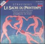 Stravinsky: The Rite of Spring; Symphonies of Wind Instruments