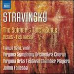 Stravinsky: The Soldier's Tale - Suite; Octet; Les noces