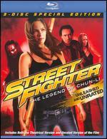 Street Fighter: The Legend of Chun-Li [Unrated/Rated] [3 Discs] [Includes Digital Copy] [Blu-ray]