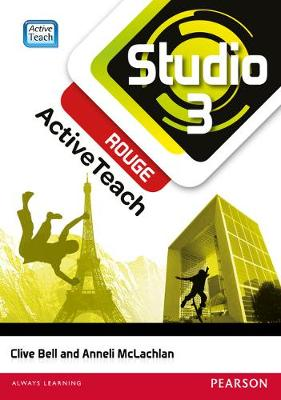 Studio 3 Rouge Activeteach (11-14 French) - Bell, Clive