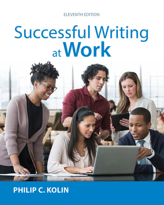 Successful Writing at Work - Kolin, Philip, Prof.