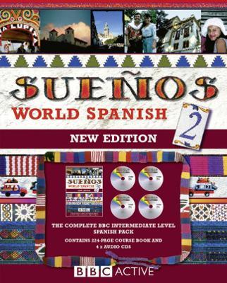 Suenos World Spanish 2: language pack with cds - Sanchez, Almudena, and Longo, Aurora, and Kattan, Juan