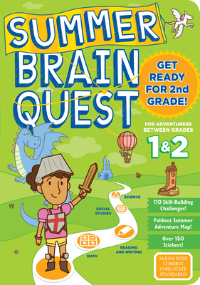 Summer Brain Quest: Between Grades 1 & 2 - Workman Publishing, and Butler, Megan, Ms., and Piddock, Claire