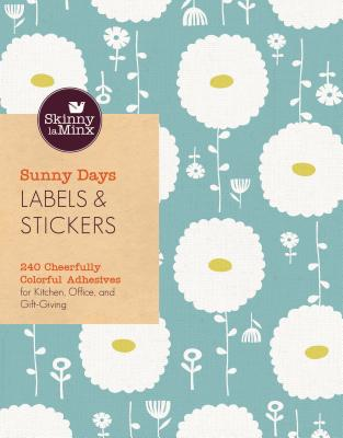 Sunny Days Labels & Stickers (Skinny Laminx): 240 Cheerfully Colorful Adhesives for Kitchen, Office, and Gift-Giving - Laminx, Skinny