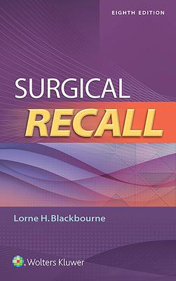 Surgical Recall - Blackbourne, Lorne