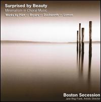 Surprised by Beauty: Minimalism in Choral Music - Adriana Repetto (soprano); Kristi Vrooman (soprano); Marc J. DeMille (baritone); Mary Gerbi (mezzo-soprano);...