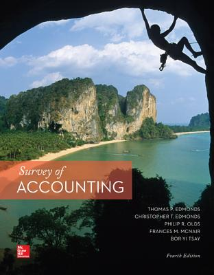 Survey of Accounting; Cnct - Edmonds, Thomas P, and Olds, Philip R, and McNair, Frances M