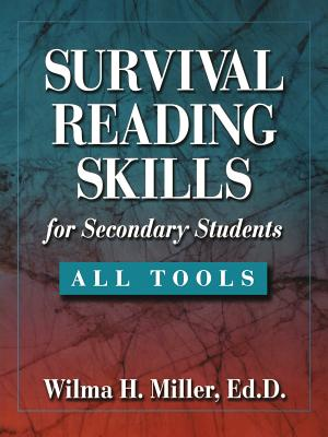 Survival Reading Skills for Secondary Students - Miller, Wilma H, Ed.D.