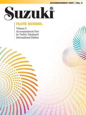 Suzuki Flute School, Vol 9: Piano Acc. - Alfred Publishing
