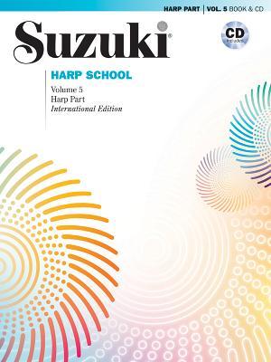 Suzuki Harp School, Vol 5: Harp Part, Book & CD - Suzuki, Shinichi