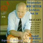 Sviatoslav Richter Archives, Vol. 14: Sviatoslav Richter plays Mozart