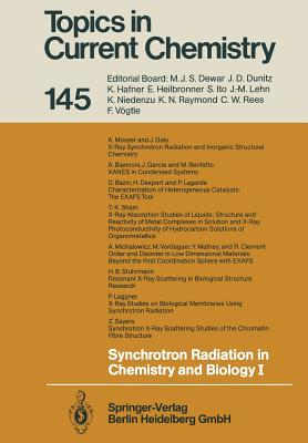 Synchrotron Radiation in Chemistry and Biology I - Mandelkow, Eckhard (Editor), and Bazin, D, and Benfatto, M