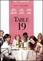 Table 19 - Jeffrey Blitz