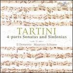 Tartini: 4-Parts Sonatas and Sinfonias