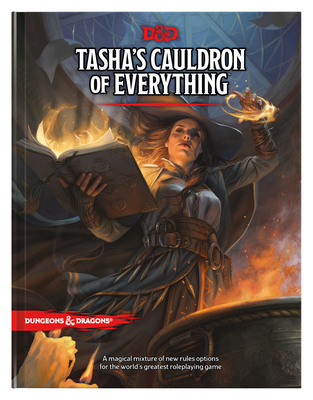 Tasha's Cauldron of Everything (D&d Rules Expansion) (Dungeons & Dragons) - Wizards RPG Team