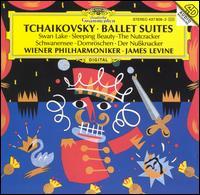 Tchaikovsky: Ballet Suites - Franz Bartolomey (cello); Rainer Kuchl (violin); Wiener Philharmoniker; James Levine (conductor)