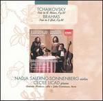 Tchaikovsky: Trio, Op. 50; Brahms: Trio, Op. 40