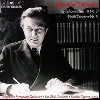 Tcherepnin: Symphonies 1 & 2; Piano Concerto 5 - Noriko Ogawa (piano); Singapore Symphony Orchestra; Lan Shui (conductor)