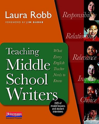 Teaching Middle School Writers: What Every English Teacher Needs to Know - Robb, Laura