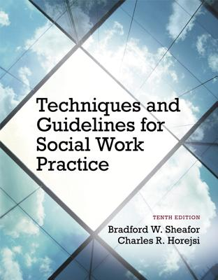 Techniques and Guidelines for Social Work Practice - Sheafor, Bradford W., and Horejsi, Charles R.