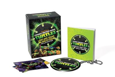 Teenage Mutant Ninja Turtles: Light-and-Sound Talking Keychain and Illustrated Book - Running Press (Editor)