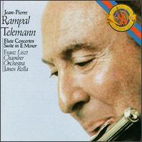 Telemann: Concertos for Flute - Jean-Pierre Rampal (flute); Franz Liszt Chamber Orchestra; János Rolla (conductor)