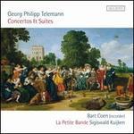 Telemann: Concertos & Suites - Bart Coen (recorder); La Petite Bande; Sigiswald Kuijken (viola da gamba); Sigiswald Kuijken (conductor)