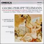 Telemann: Don Quichotte Suite, etc.