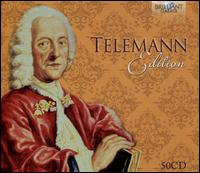 Telemann Edition - Achim Beyer (harpsichord); Alberto Guerra (bassoon); Alex Van Aeken (horn); Alfredo Bernardini (oboe);...