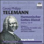 Telemann: Harmonischer Gottes-Dienst, Vol. 4