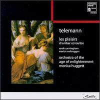 Telemann: Les Plaisirs - Marion Verbruggen (recorder); Orchestra of the Age of Enlightenment; Sarah Cunningham (viola da gamba)