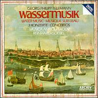 Telemann: Overture; Concertos - Musica Antiqua Köln