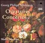 Telemann: Overtures, Sonatas & Concertos, Vol. 1