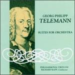 Telemann: Suite In C Major/Suite In G Minor/Suite In G Major