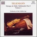 Telemann: Tafelmusik, Vol. 1