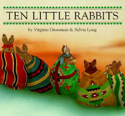 Ten Little Rabbits Board Book - Grossman, Virginia