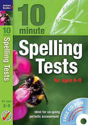 Ten Minute Spelling Tests for Ages 8-9 - Brodie, Andrew