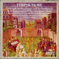 Terpsichore: Renaissance and Early Baroque Dance Music - Konrad Ragossnig (lute); Vladimir Ivanoff (percussion); Ulsamer-Collegium