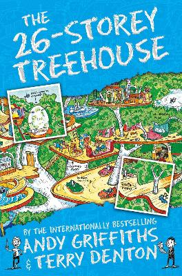 The 26-Storey Treehouse - Griffiths, Andy