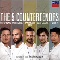 The 5 Countertenors - Max Emanuel Cencic (counter tenor); Valer Sabadus (counter tenor); Vince Yi (counter tenor); Xavier Sabata (counter tenor); Yuriy Mynenko (counter tenor); Armonia Atenea; George Petrou (conductor)
