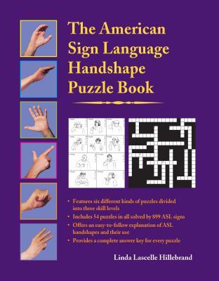 The American Sign Language Handshape Puzzle Book - Hillebrand, Linda Lascelle