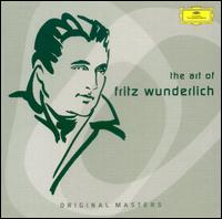 The Art of Fritz Wunderlich - Alois Pernerstorfer (vocals); Antonia Fahberg (vocals); August Messthaler (bass); Brigitte Fassbaender (vocals);...