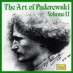 The Art of Paderewski, Vol. II